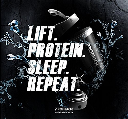 PROMiXX (2018 Model) - The Original Vortex Mixer | Beautifully Engineered High-Torque Battery-Powered Protein Shaker Bottle with X-Blade Technology | 600ml/20oz (Black) by Promixx (Image #5)