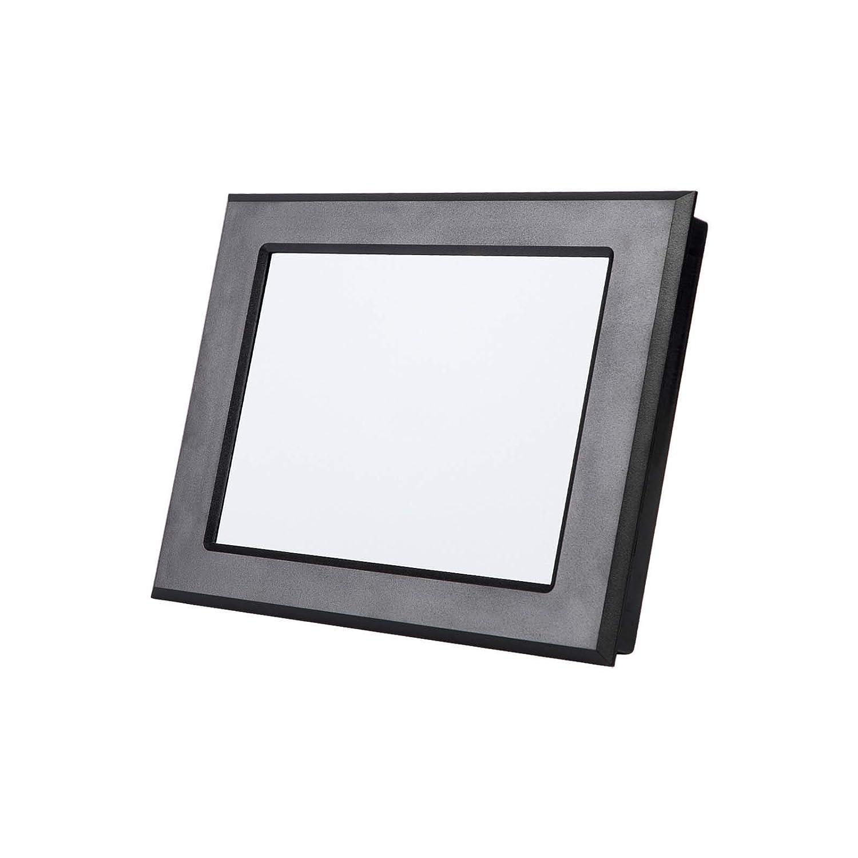 Pantalla Módulo HMI TFT LCD de 8 pulgadas con controlador táctil del programa de interfaz serie UART y marco de plástico