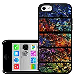 Colorful Live Art Painting Hard Snap on Phone Case (iPhone 5c)