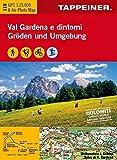 KOKA118 Kombinierte Wanderkarte Gröden und Umgebung - GPS kompatibel - Maßstab 1:25.000 (Kombinierte Sommer-Wanderkarten Südtirol / Topografische Karte + 3D-Panoramakarte)