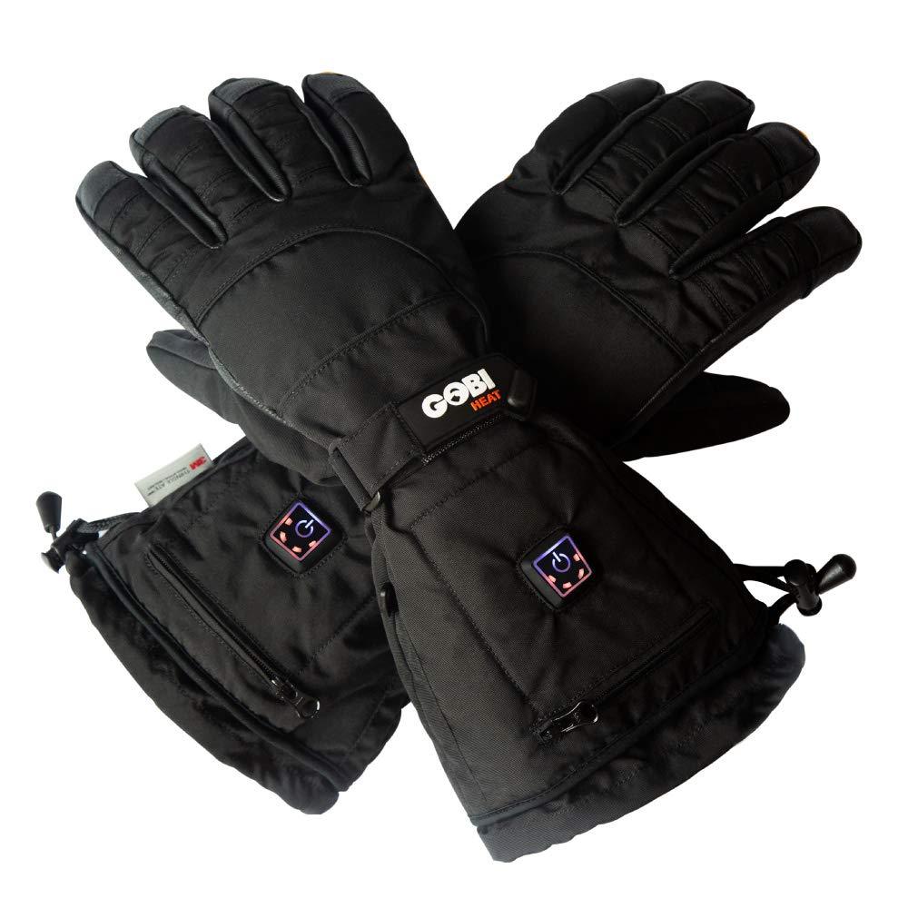 Epic Heated Ski Gloves - Unisex (L, Onyx)
