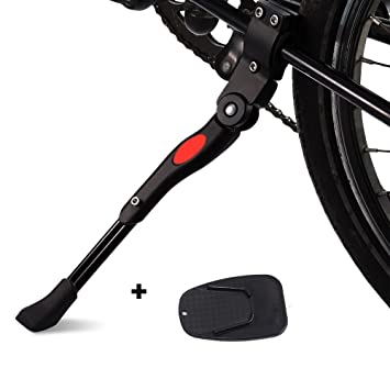 Soporte de Lateral de Bicicleta Plegable,AZX,Patas de Cabra y Caballetes, Bicicleta