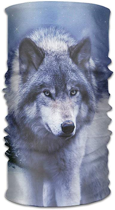 Wolf Unisex Beautiful Variety Scarf Head Scarf Scarves Face Masks ...