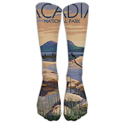 Acadia National Park, MaineCompression Socks For Women And Men - Best Medical, Nursing, Travel & Flight Socks - Running Fitness