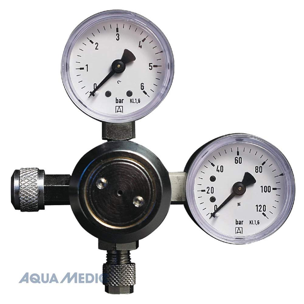 Aqua Medic Regular Riduttore di pressione M. 2 manometro