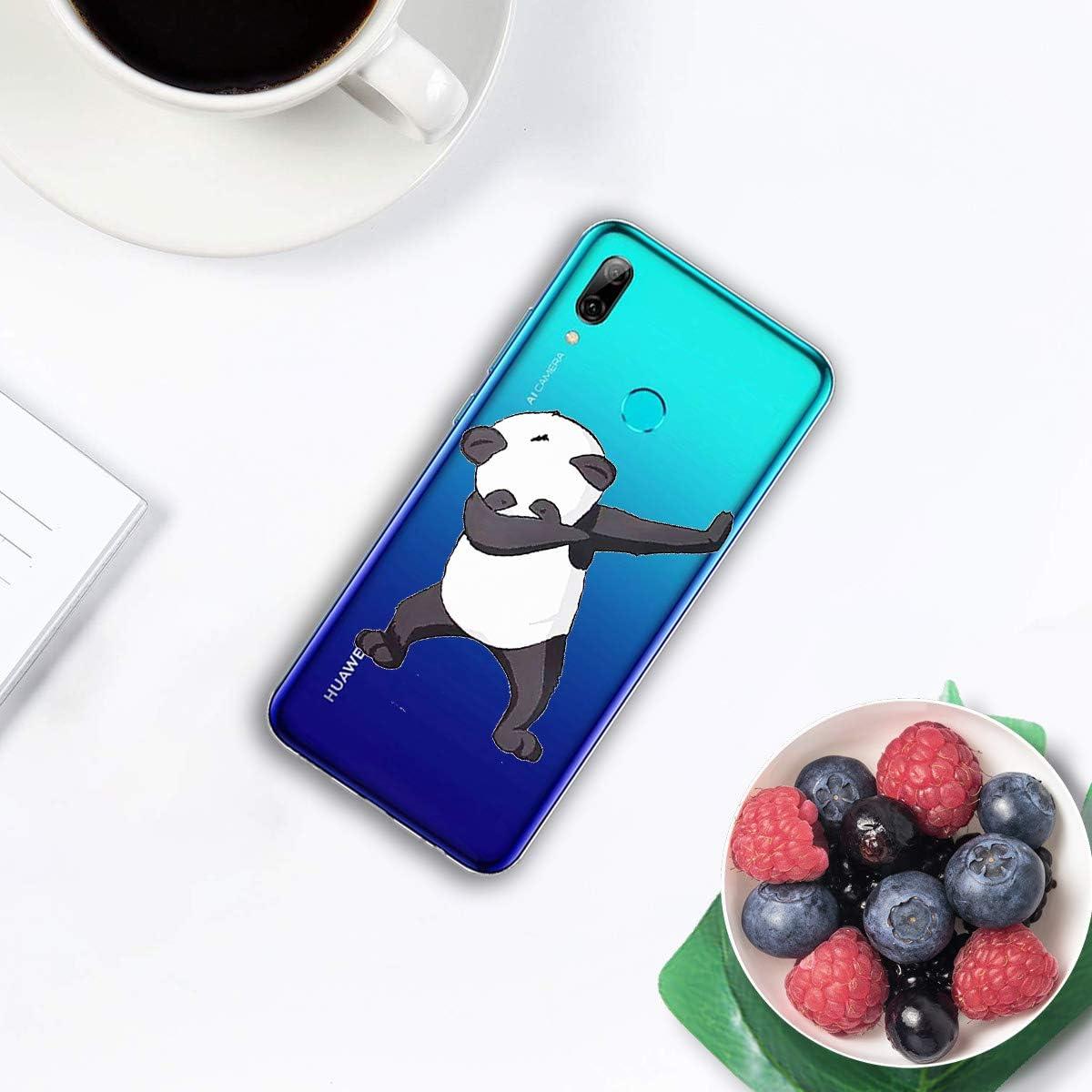 Caler Coque de Protection en Silicone TPU Souple et Fine pour Huawei P Smart 2019//Honor 10 Lite 2019
