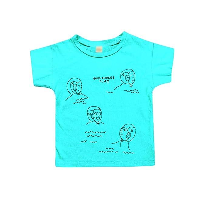 Heheja Camisetas Unisex Cuello Redondo Algodón T-Shirt Divertidas Deportivas Polo Tee Corta Shirts Para