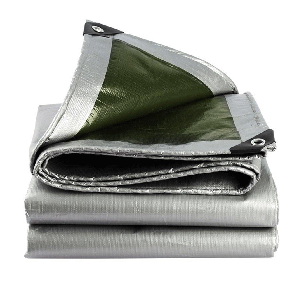 Die Plane PE Plane Polyethylen Silber Verdickt Isolierung Im Freien Sonnenschirm Regen Abdeckung Markise Tuch