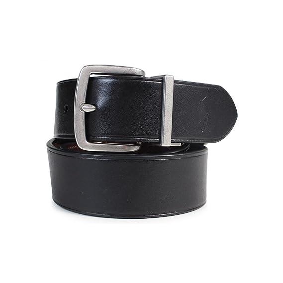 10f88d772400 ラルフローレン ベルト リバーシブル 本革 メンズ 34 ブラック/ブラウン (並行輸入品)