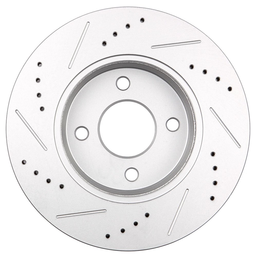 Chevy Camaro 93-97 Drill Slot Brake Disc Rotors REAR