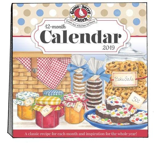 2019 Gooseberry Patch Wall Calendar Calendar – Wall Calendar, April 1, 2018 1620932725 Seasonal COOKING / Seasonal Calendars