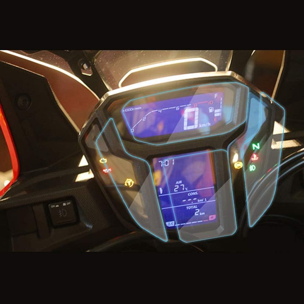 Semoic Motorrad Geschwindigkeit Instrument Kratzfest Uv Schutzfolie Schutzfolie Fuer Afrika Zwilling Crf1000L