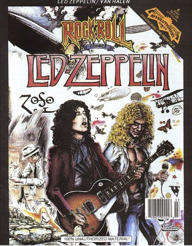 Magazine #6 : Led Zeppelin & Van Halen (Revolutionary Comics) ()