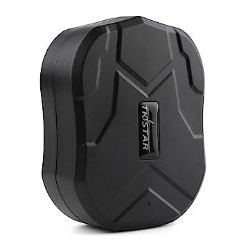 Autopmall GPS rastreador para Coche Motocicleta 2G vehículo rastreador de Espera GPS localizador Impermeable imán,