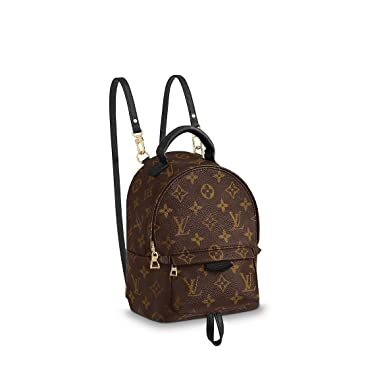 3325f2f0342c Amazon.com  Louis Vuitton Palm Springs Mini Backpack M41562  Clothing
