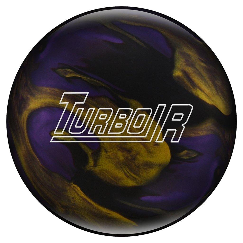 Eboniteターボ/R pre-drilled Bowling ball-ブラック/パープル/ゴールド B07D32YTYB   13lbs