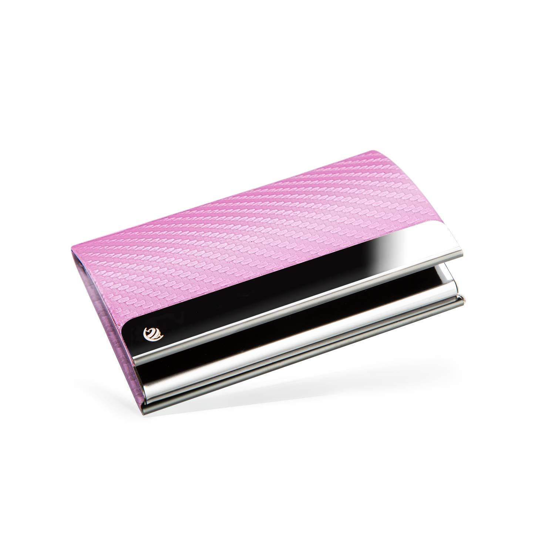 Brodi Premium Visitenkarten Etuis Für Eine Besonders Schonende Aufbewahrung Hochwertiges Kartenetui Aus Edelstahl Mit Magnetverschluss Inkl