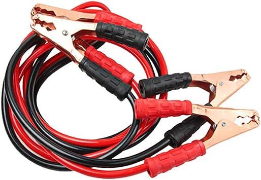 Cavo di avviamento batteria 4 metri Cavo di avviamento ausiliario di alimentazione per auto 2200A Cavi di avviamento batteria di emergenza