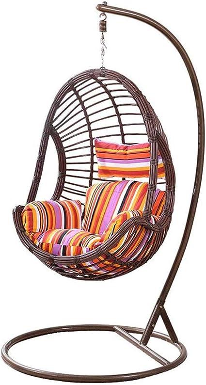 Chaise de salon en osier - Balancelle de jardin - Fauteuil ...