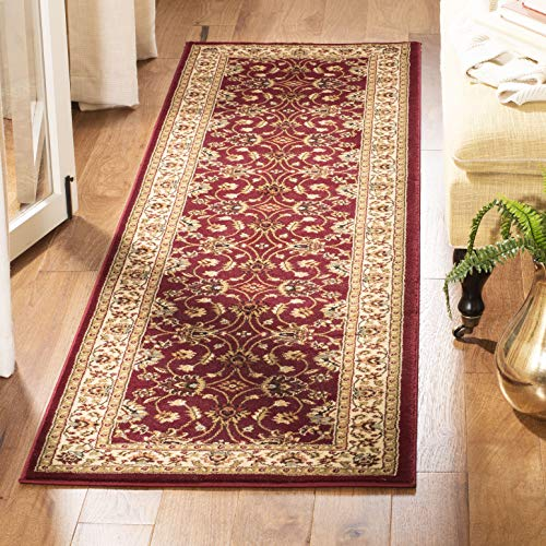 Safavieh Lyndhurst Collection LNH553-4012 Traditional Floral Red and Ivory Runner (2'3