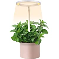 Horior Sunlike Ring LED Plant Grow Light for Potted Plants Herb Garden Plant lamp with Adjustable Height, Automatic…