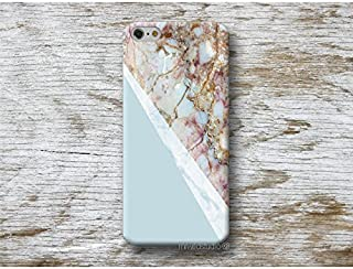 bleu marbre Coque Étui Phone Case pour Samsung Galaxy S9 S8 Plus S7 S6 Edge S5 S4 mini A3 A5 J3 J5 J7 Note 9 8 5 4 Core Grand Prime