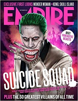 Empire Magazine September 2016 Jared Leto The Joker Cover