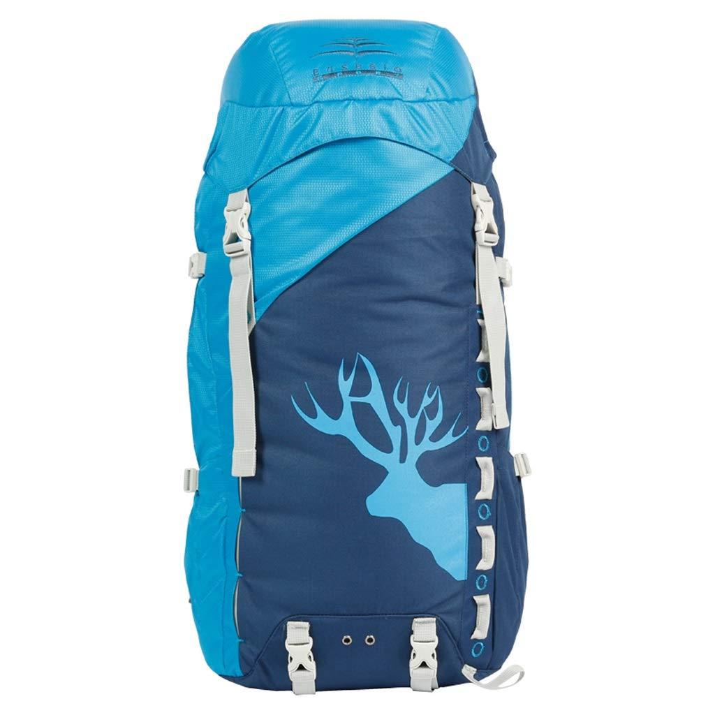 屋外バックパック 登山バッグバックパック男性と女性の大容量多機能防水キャリングシステム旅行ハイキングバックパック HBJP (色 : B) B07RV7YZQS B