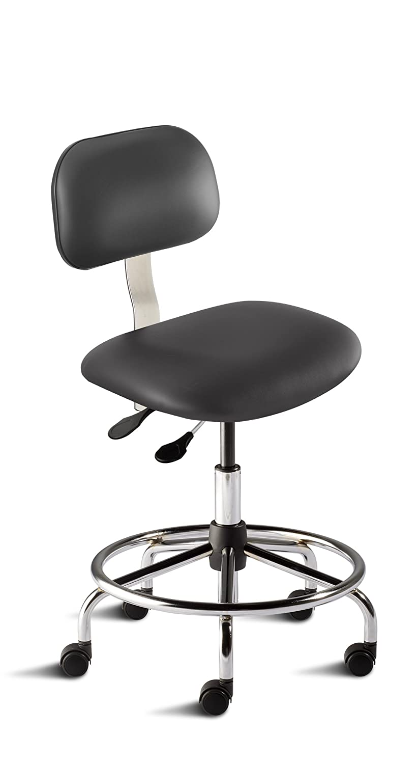 BioFit Engineered Products BES-M-RC-C-AV126 Belize Series Medium Bench Height Chair with Steel Base