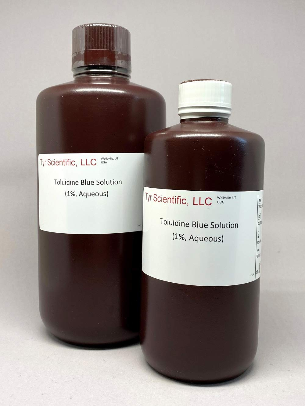1/%, Aqueous 500ml Toluidine Blue Solution