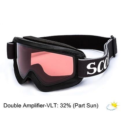 ca967f2af8f4 Amazon.com   SCOTT Junior US Agent Ski Goggles