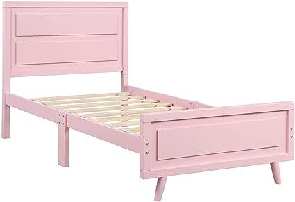 Ted Gold Estructura de colchón con Estructura de Cama Doble ...