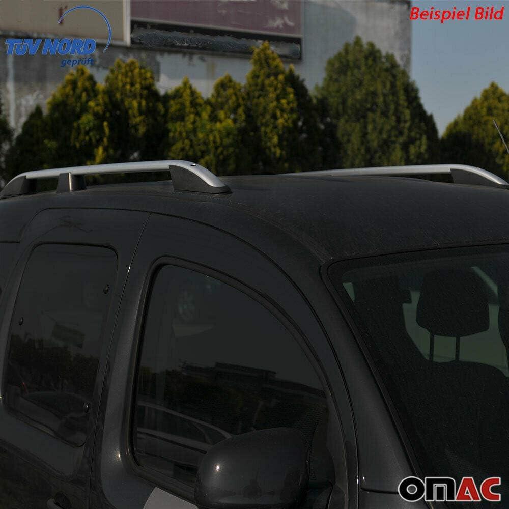 Portaequipajes de techo relingträger para Fabia Clubman Freelander asineto Alu negro TÜV Abe