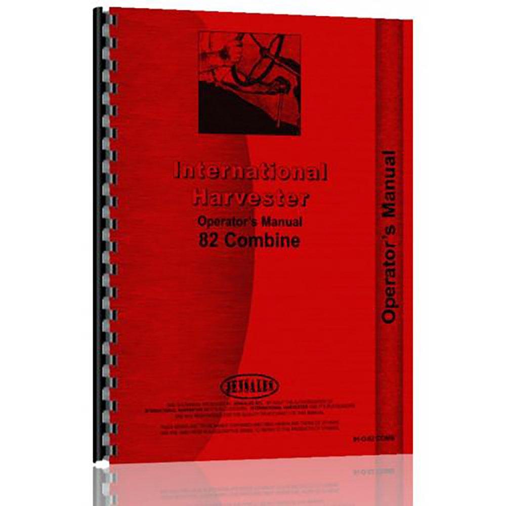 Amazon com: IH-O-82 COMB New Operators Manual Made for Case