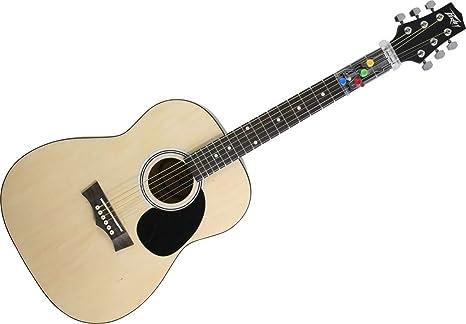 Peavey 03016700 - Guitarra acústica (tamaño 3/4, con clip ...