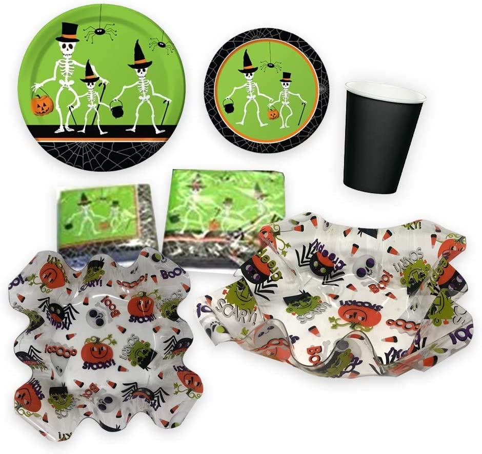 Skeleton Party Tableware Bundles