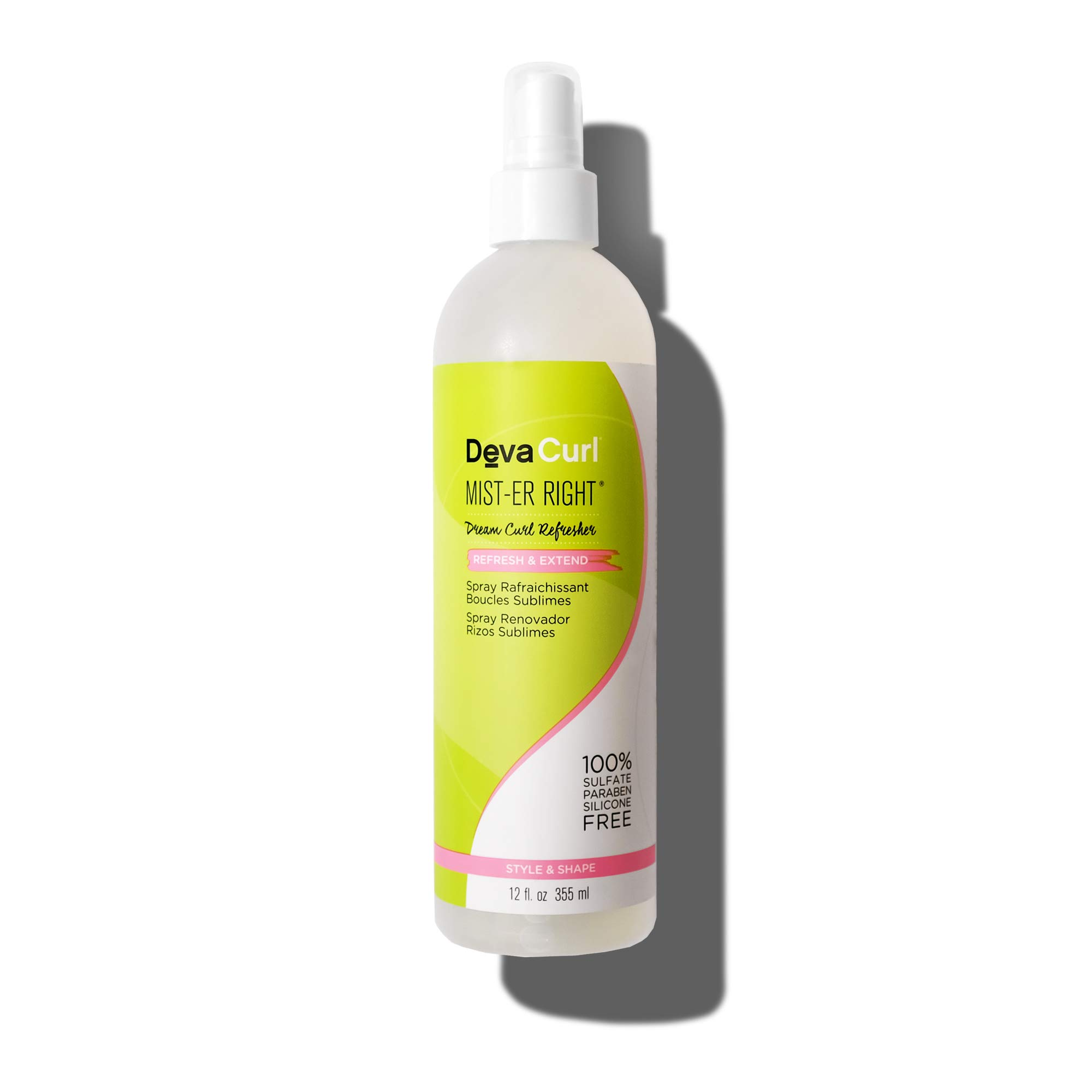 DevaCurl Mist-er Right Dream Curl Refresher; 12oz by DevaCurl