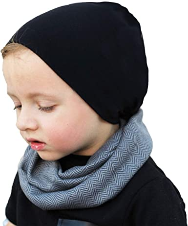 Home Prefer Cotton Baby Hats Infant Toddler Boys Daily Skull Beanie Hat Unisex
