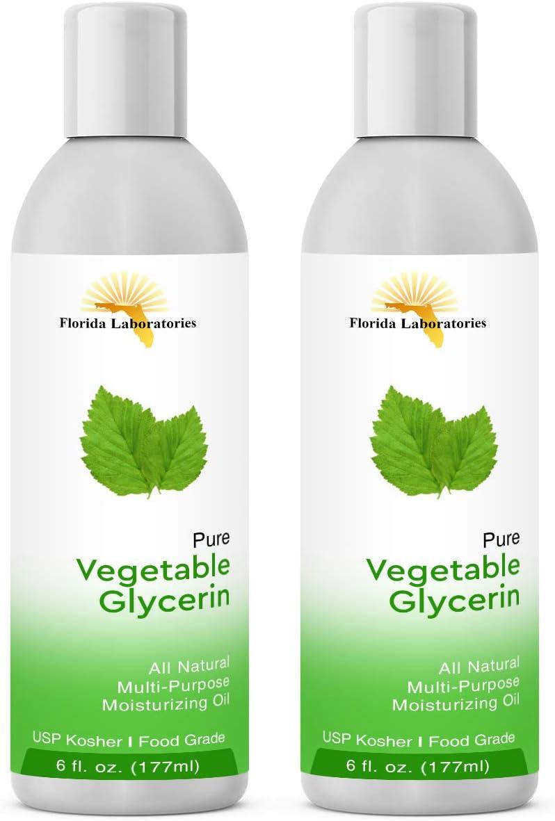 12 oz of Vegetable Glycerine USP VG Kosher VG 99.9% Pure Food Grade - Natural