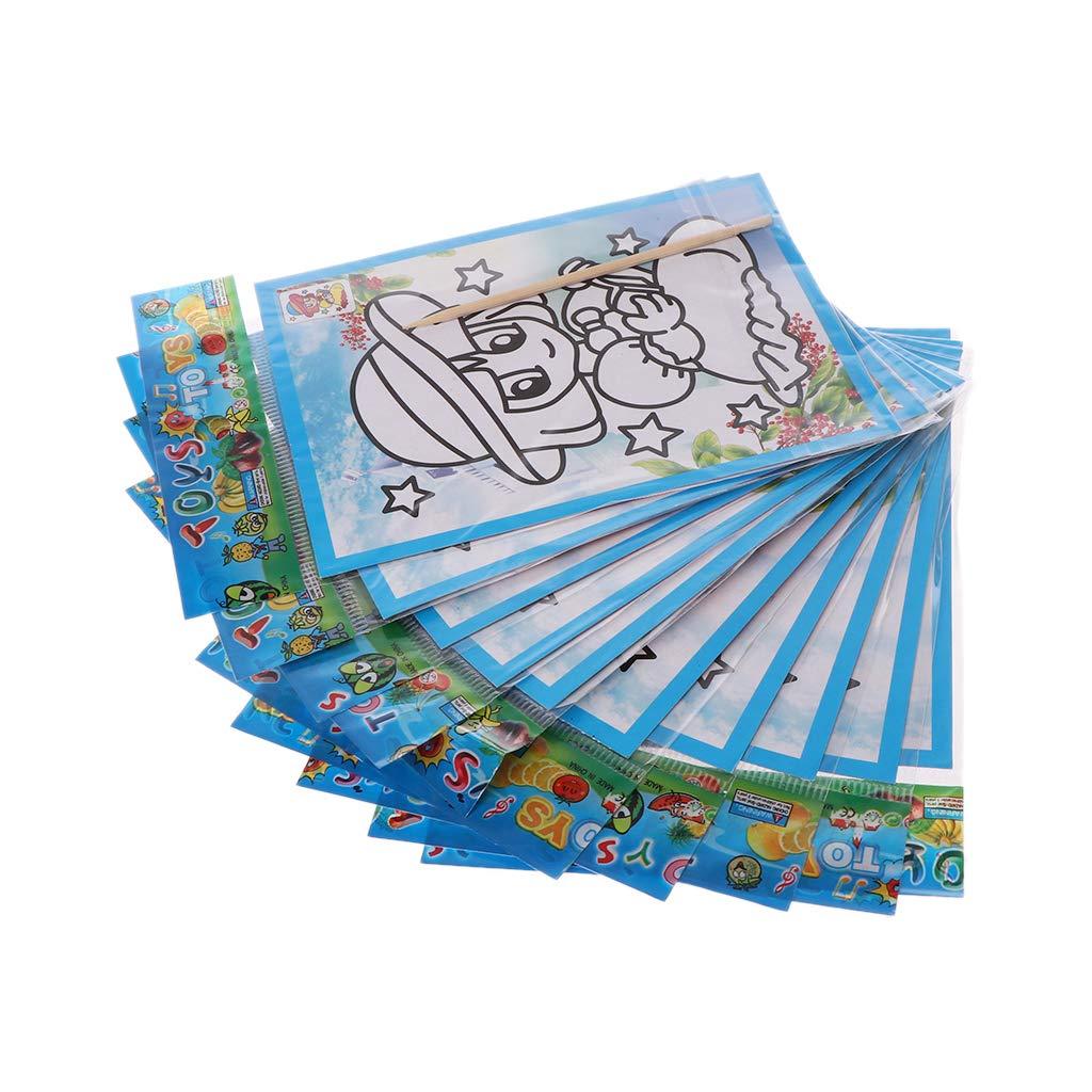 Loisirs Créatifs Jeux Et Jouets A0127 100pcs Carte A Gratter