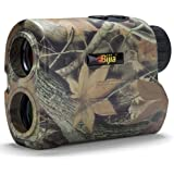 BIJIA Hunting Rangefinder - 6X 650/1200Yards Multi-Function Laser Rangefinder for Hunting,Shooting, Golf,Camping with…