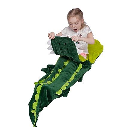 Manta de cocodrilo para niños, Saco de Dormir,Mejores Regalos para niños,18