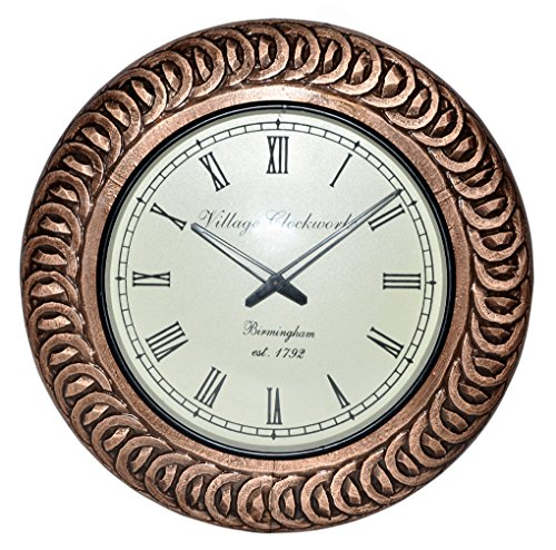 Antique Wooden Clock For Room Decor 18 Inches