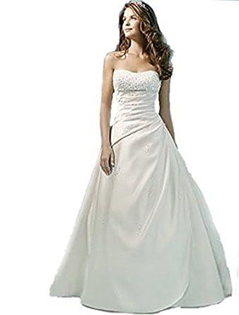 plus de photos c5d68 10b23 atopdress - Robe de mariage - Mariage - Sans Manche - Femme ...