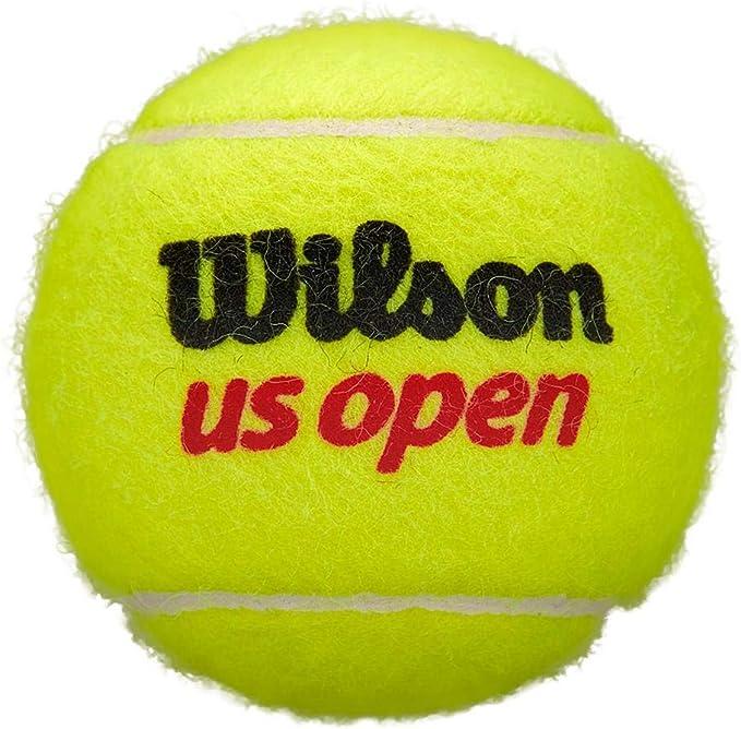 Wilson US Open 3 Ball Tube Yellow: Amazon.es: Deportes y aire libre