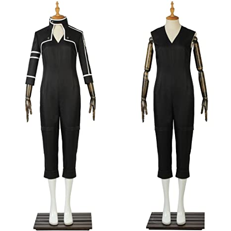 Amazon.com: cosplaydiy hombre traje para Sao Sword Art ...