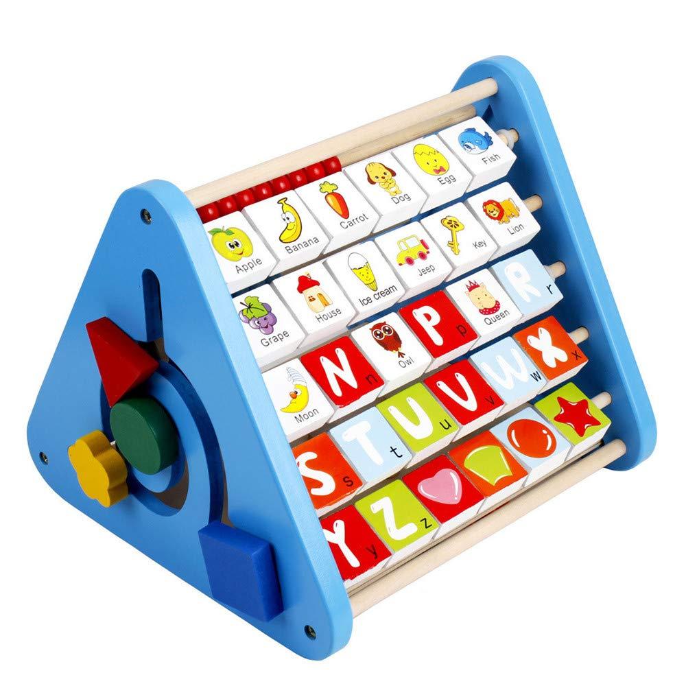 Techecho 早期教育 幼児用おもちゃ 多くの認識 木製教育玩具 ダニーウィズダム パワフルな組み合わせ 多機能 早期の子供時代学習用おもちゃ 1歳から3歳のお子様用   B07PNZNDZJ