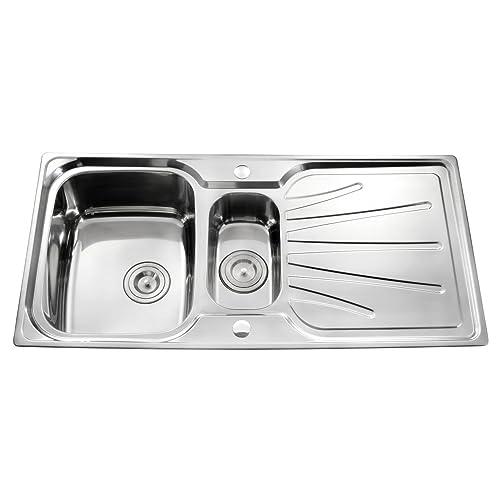 1.5 Steel Sink: Amazon.co.uk