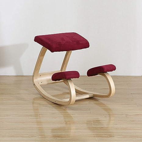 Groovy Amazon Com Lu Ergonomic Kneeling Chair Rocking Posture Frankydiablos Diy Chair Ideas Frankydiabloscom