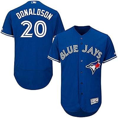 Josh Donaldson Toronto Blue Jays MLB Majestic Youth Blue Alternate Cool Base Replica Jersey